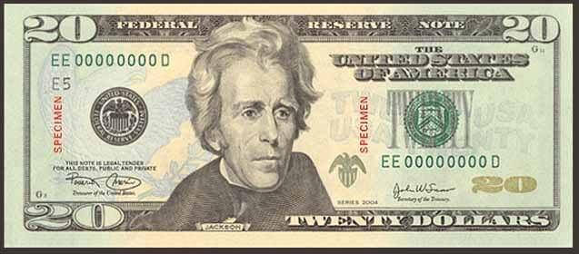20-dolar