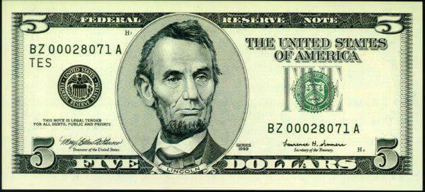 5-dolar