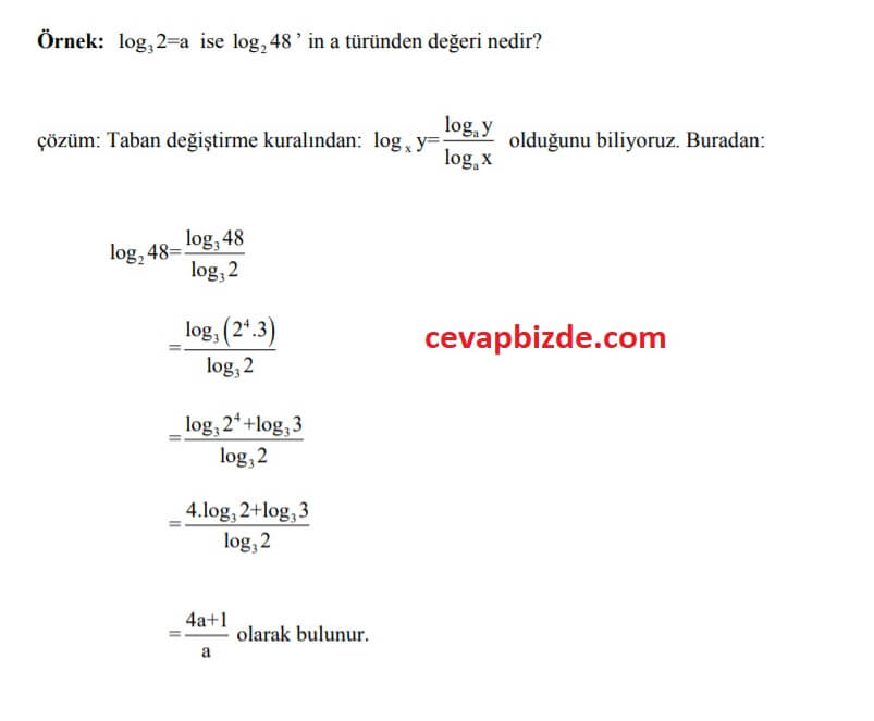 logaritma soru2